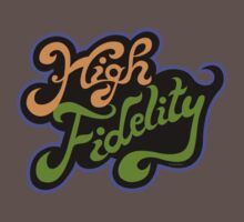 High Fidelity Kids Clothes