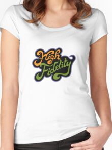 High Fidelity Women's Fitted Scoop T-Shirt