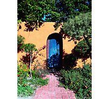 Blue Door at Old Mesilla Photographic Print