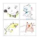 William's Drawings 2010 by Melinda Gaal