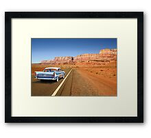 Open Road Cruising  Framed Print