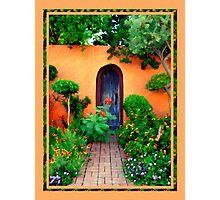 Garden Delights, Mesilla Photographic Print
