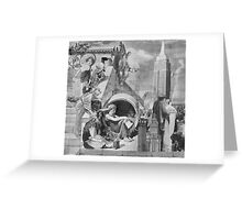A Visit From the Kings & Queens. Greeting Card