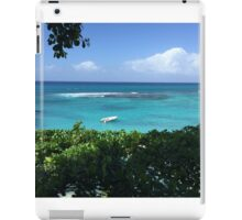 Ocean view from the trees iPad Case/Skin