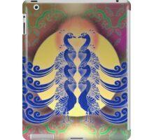 Blue Peacocks iPad Case/Skin