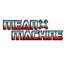 EBW Mean Machine Mark Sanders T-Shirt Photographic Print