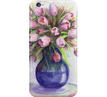 Tulip bouquet iPhone Case/Skin