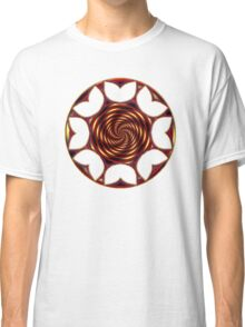Red Golden Tulips Classic T-Shirt