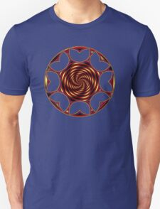 Red Golden Tulips T-Shirt