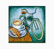 Green Electra Delivery Bicycle Coffee and biscotti Unisex T-Shirt