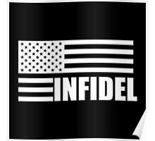American Infidel (Black) Poster
