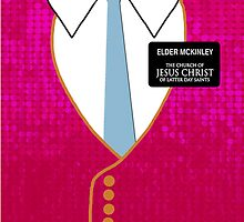 Elder Mickinley- Book of Mormon by divaree