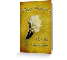 Jonquil Anniversary Greeting Card
