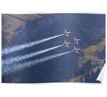Patrouille Suisse - Northrop F-5E Tiger II Poster