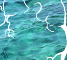 Ocean Heart Sticker