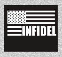 American Infidel (Black) One Piece - Short Sleeve