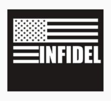 American Infidel (Black) One Piece - Long Sleeve