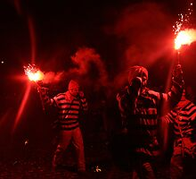 Red Torch (Lewes Bonfire 2010) by JJFA