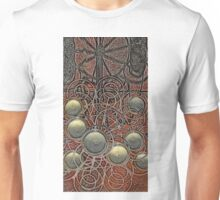 Round candles on tile - pencil Unisex T-Shirt