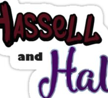 Hassell & Hall: Classic Sticker