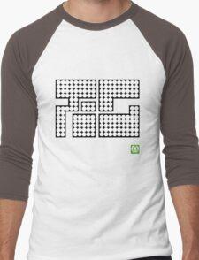Splatoon Inspired: Octo Tee(Cuttlegear tag) Men's Baseball ¾ T-Shirt