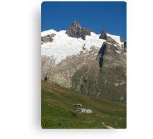 Vallee des Glaciers Canvas Print