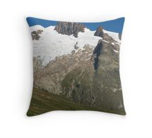 Vallee des Glaciers Throw Pillow