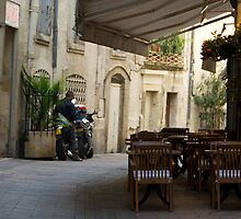 Cafe Awning, Montpellier by Skye Hohmann