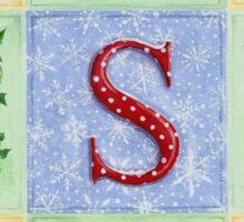 Decorative Christmas Letters Sticker