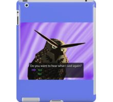 Legend of Zelda - Kaepora Gaebora iPad Case/Skin