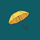 Yellow Umbrella  by benwllace159