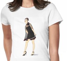 Ms. Rose Womens Fitted T-Shirt