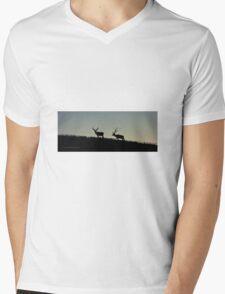 Movin On Up Mens V-Neck T-Shirt