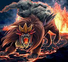 Roar of Entei by Junryou