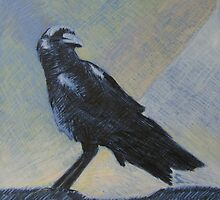"""crow"" by Richard Robinson"