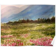 Laurels Beside the Carpathian Mountains Poster