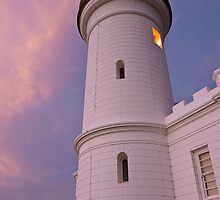 Cape Byron Lighthouse, looking up, 16/11/2010 by Odille Esmonde-Morgan