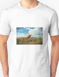 Bull and Black Birds Unisex T-Shirt