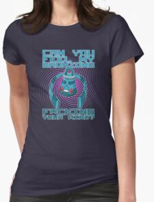 Can you feel my Bronzong... Womens Fitted T-Shirt