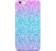 Colorful Retro Glitter And Sparkles iPhone Case/Skin