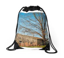 Opposites attract Drawstring Bag