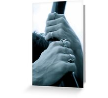Hold on to Love Greeting Card