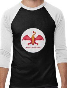 Sprechen sie Draconic? Men's Baseball ¾ T-Shirt