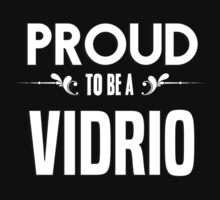 Proud to be a Vidrio. Show your pride if your last name or surname is Vidrio by mjones7778