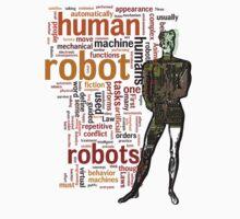 Human Robot One Piece - Short Sleeve