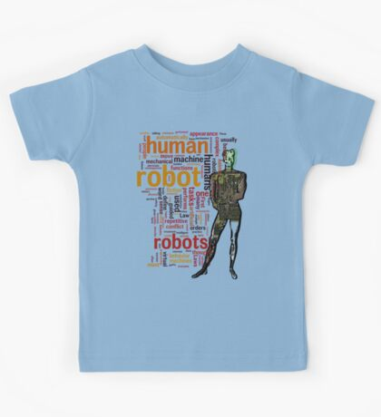 Human Robot Kids Tee