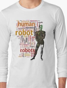 Human Robot Long Sleeve T-Shirt