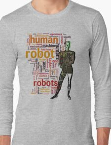 Human Robot Long Sleeve T-Shirt