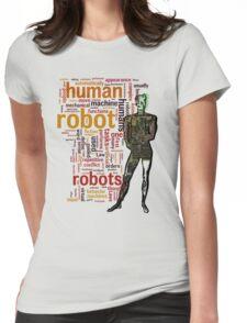 Human Robot Womens Fitted T-Shirt