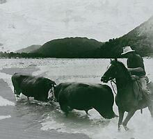 """""""trouble up the paringa I""""  paringa, west coast, nz by rina  thompson"""
